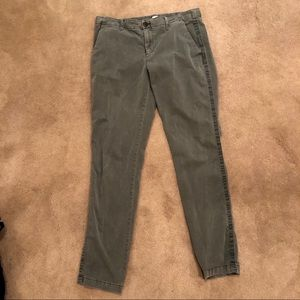 Olive 8 Tall Gap Girlfriend Chino Pants